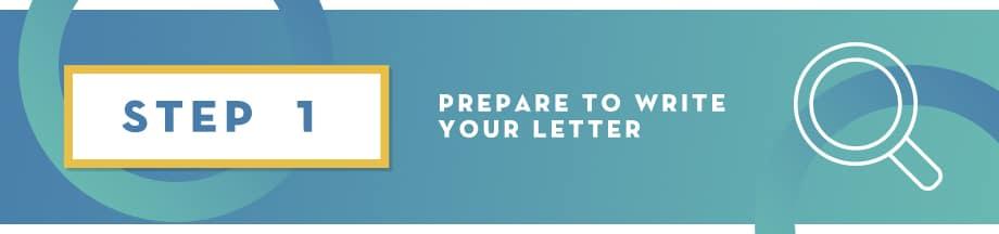 Corporate Sponsorship Letter Step 1