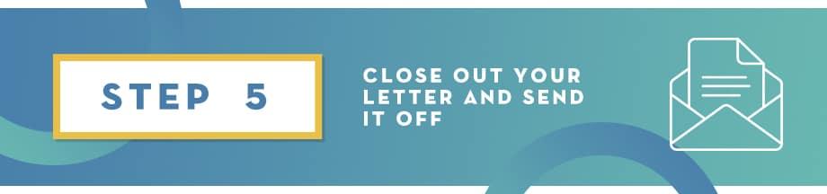Corporate Sponsorship Letter Step 5