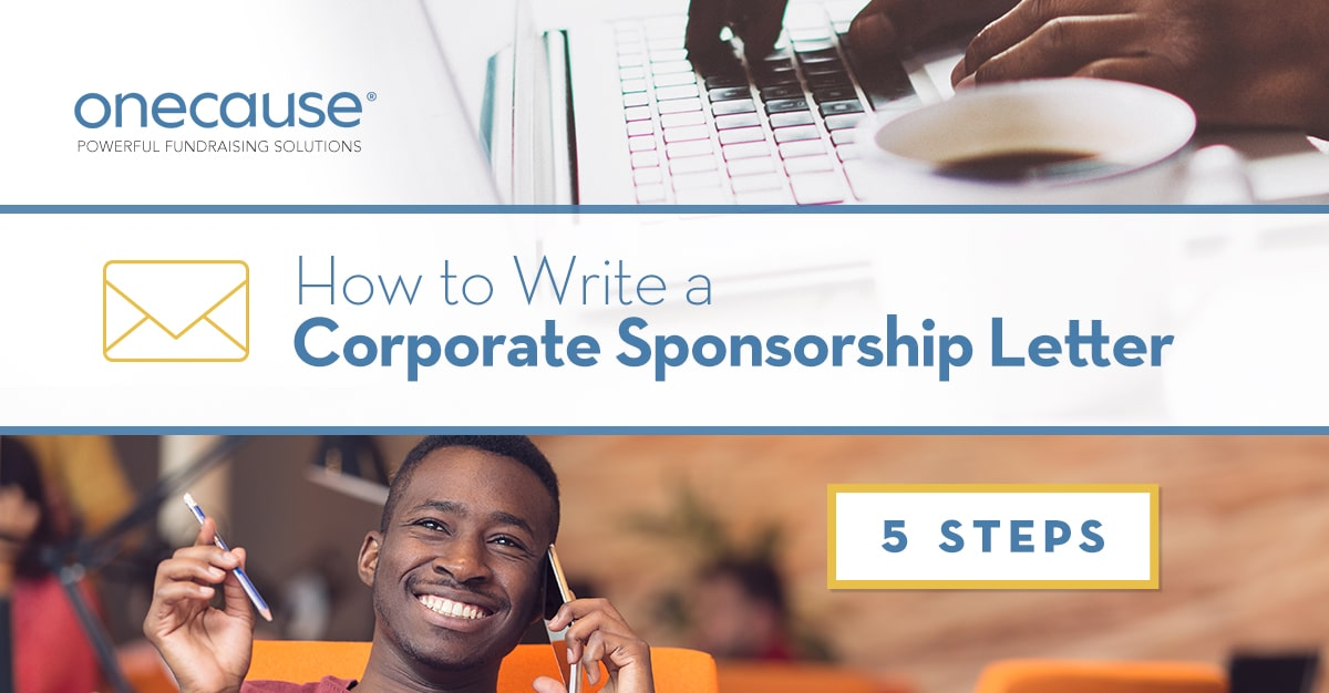 Corporate Sponsorship Letter 5 Steps