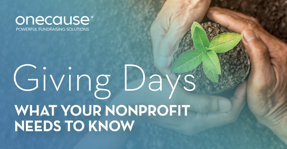Giving Days What Your Nonprofit Needs to Know