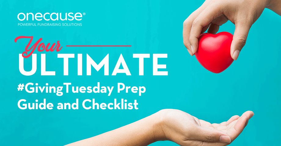 Giving Tuesday Prep Ultimate Guide and Checklist
