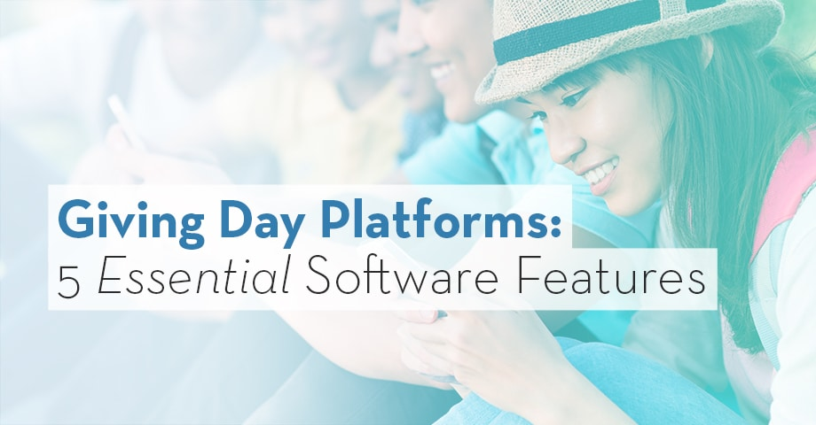 Giving Day Platforms