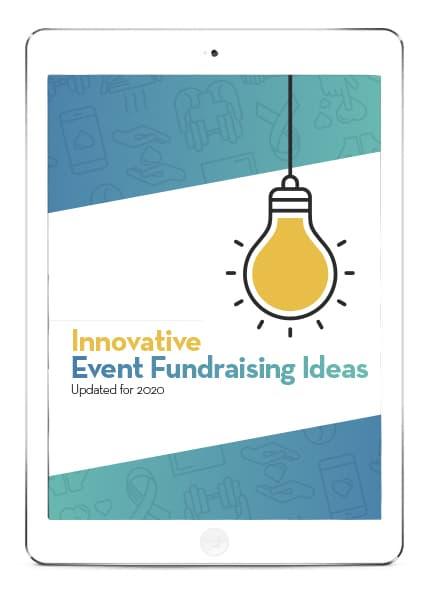 Innovative Event Fundraising Ideas eBook on iPad