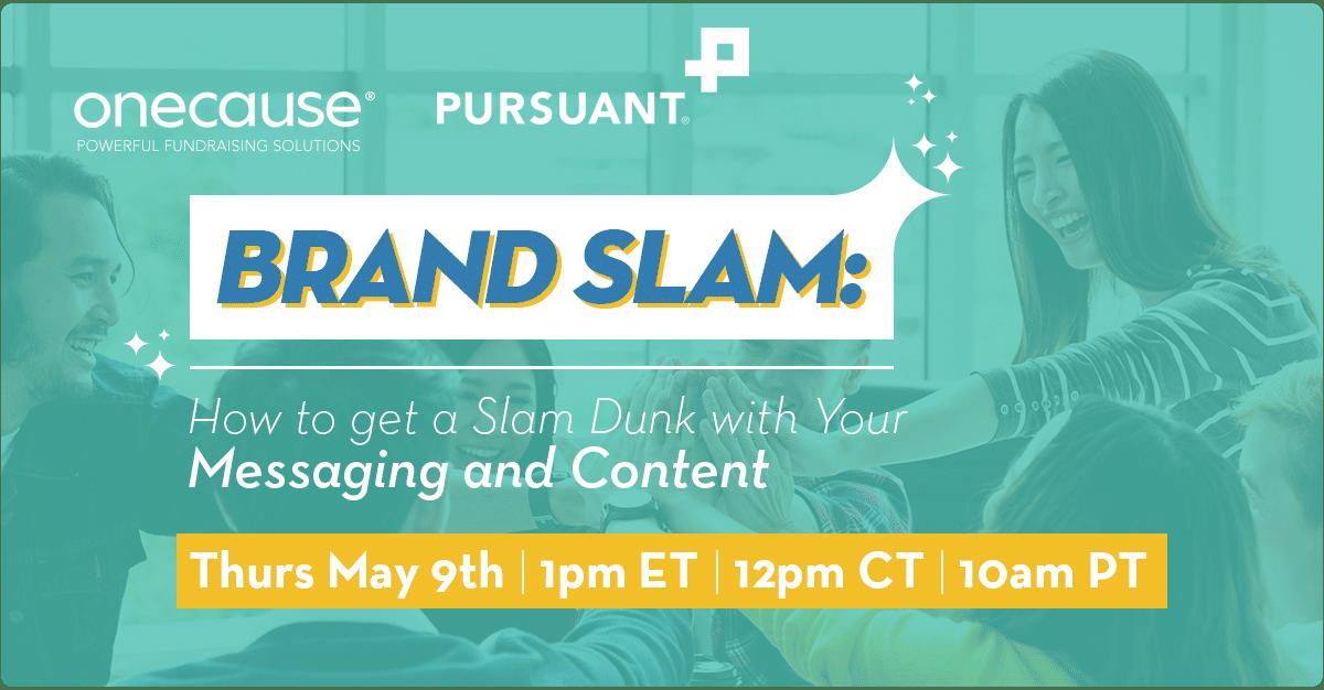 Brand Slam Webinar