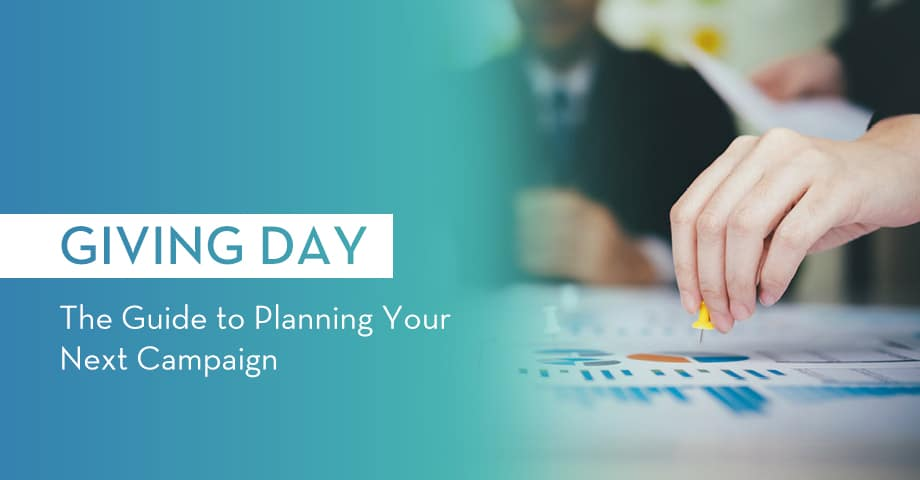 Giving Days: The Guide to lanning Your Next Campaign