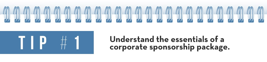 Tip 1 Corporate Sponsorship Package
