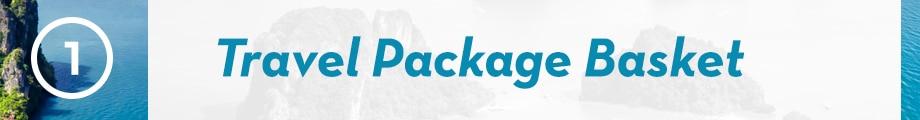 1. Travel Package Basket