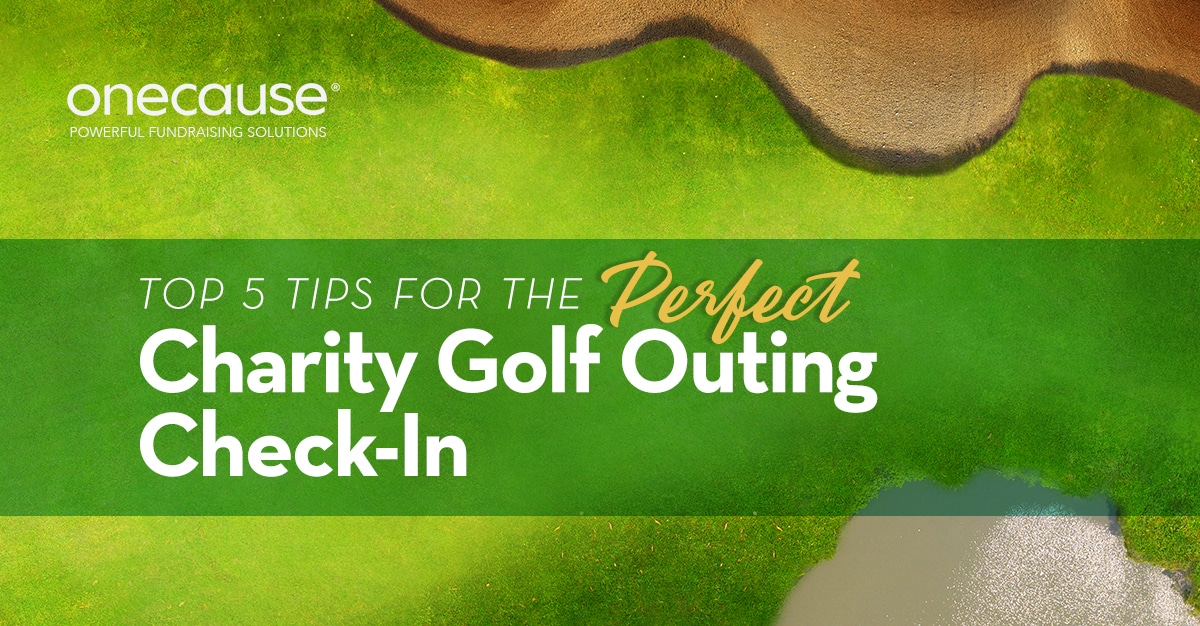 Top 5 Tips for the Perfect Charity Golf Outing Check-In