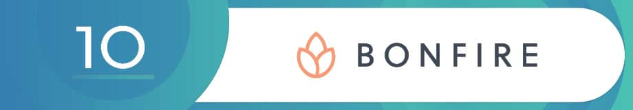Bonfire is a top fundraising software.