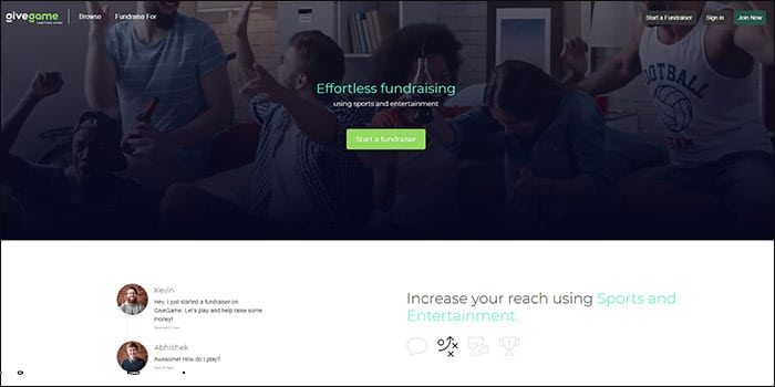 Learn more about GiveGame's fundraising software!