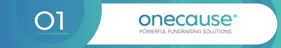 OneCause is an excellent fundraising software.