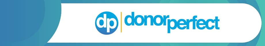 DonorPerfect is an excellent nonprofit software solution.