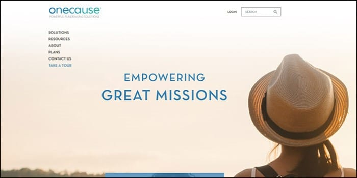 Learn more about nonprofit software by OneCause.