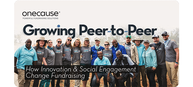 Growing Peer-to-Peer - How Innovation and Social Engagement Change Fundraising