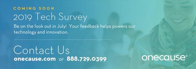 Tech Survey Footer
