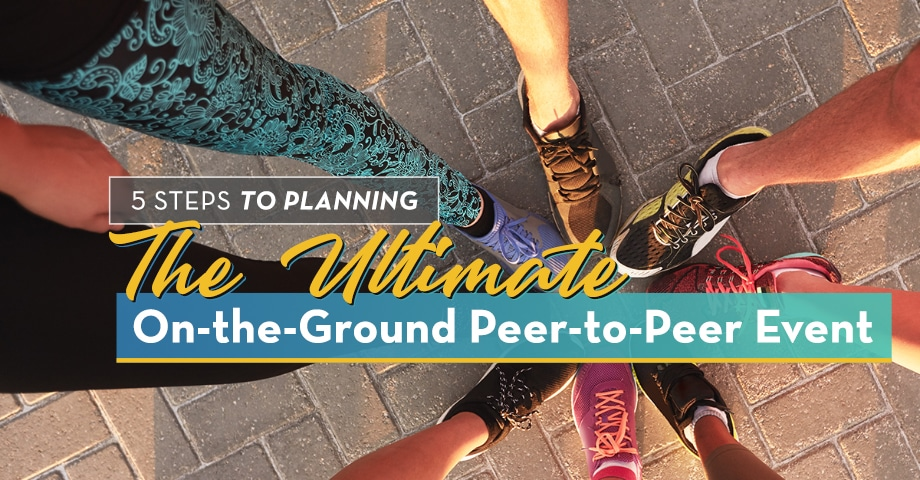 The Ultimate On-the-Ground Peer-to-Peer Event