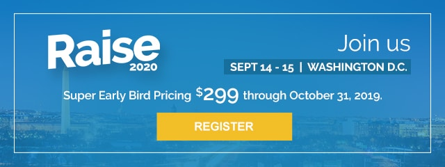 RAISE 2020 | Super Early Bird Pricing