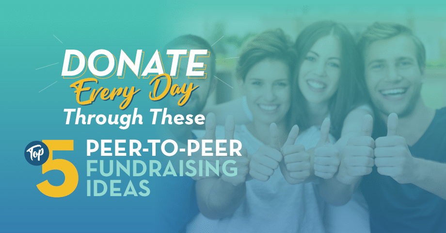 Use these ideas to improve your nonprofit's peer-to-peer fundraising process.