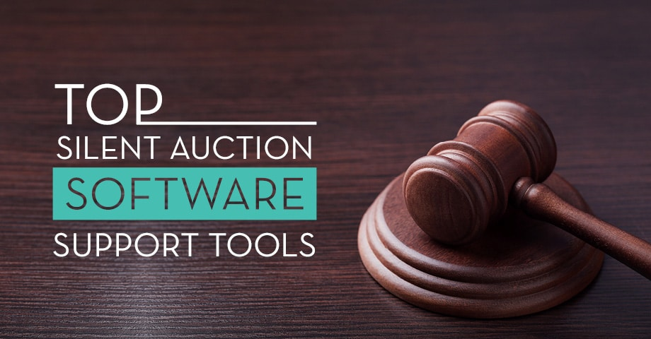 Explore the top silent auction software support tools for your event.