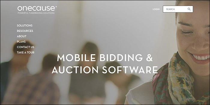 Learn more about silent auction software by OneCause.