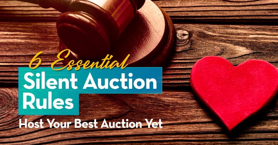 6 Essential Silent Auction Host Your Best Auction Yet