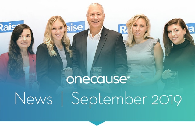 OneCause News October 2019