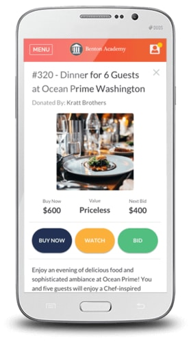 Mobile bidding is a gamechanging strategy to boost engagement at silent auctions.