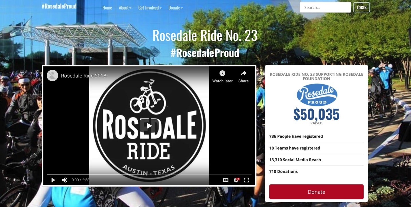 Rosedale Ride No 23.