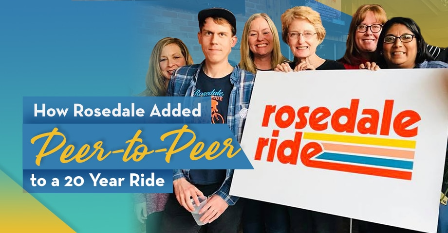 How Rosedale Added Peer-to-peer to a 20 Year Ride