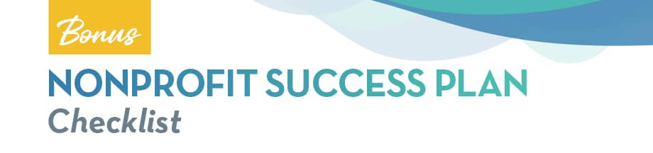 Nonprofit Success Plan Checklist