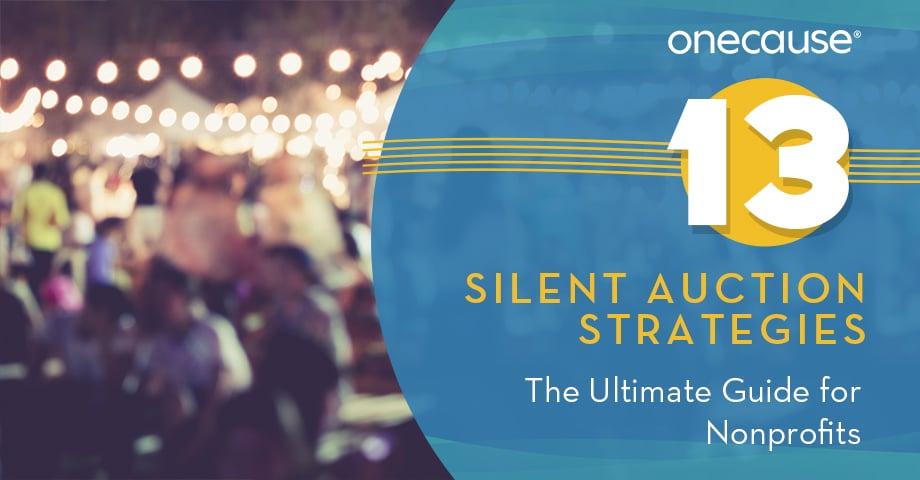 13 Silent Auction Strategies The Ultimate Guide for Nonprofits