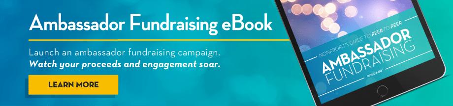 OneCause Ambassador Fundraising Made Easy eBook