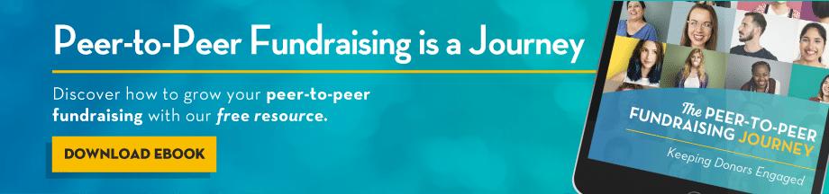 OneCause Peer-to-Peer Fundraising Journey