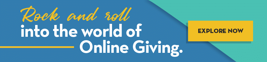 Rock and roll into the world of OneCause online giving
