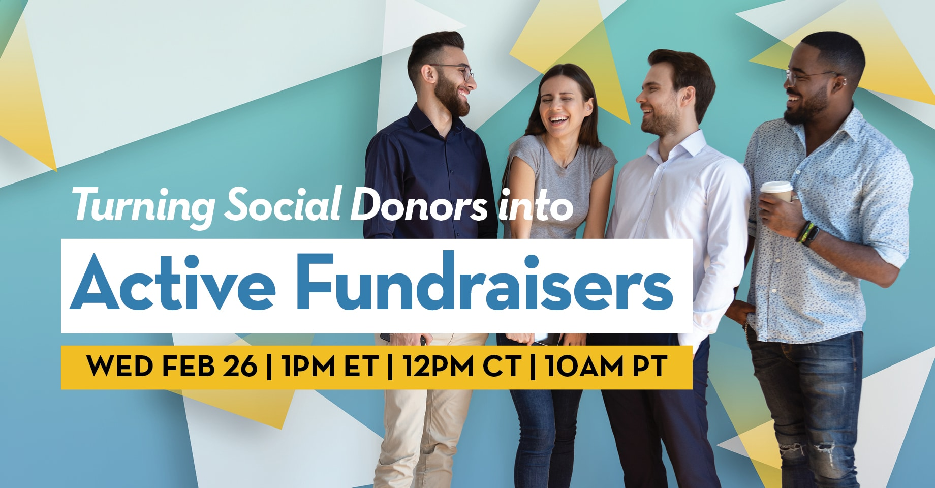 Turning Social Donors into Active Fundraisers