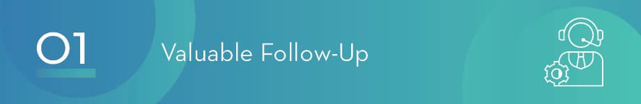 Follow-up is a critical part of responsive fundraising that builds sustainable relationships over time.