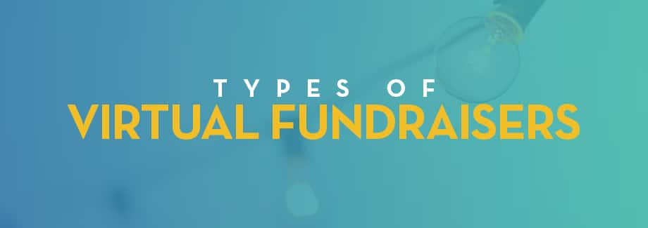 Types of Virtual Fundraisers