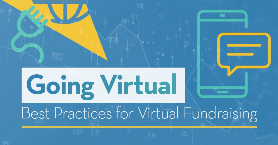 Going Virtual - Best Practice of for Virtual Fundraising Infographic