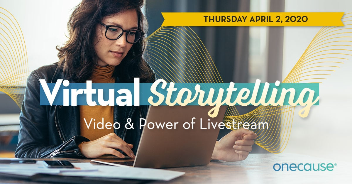 Webinar: Virtual Fundraising Video & Power of LIvestream