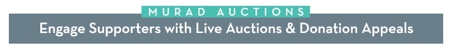 Engage Supporters with Live Auctions & Donation Appeals