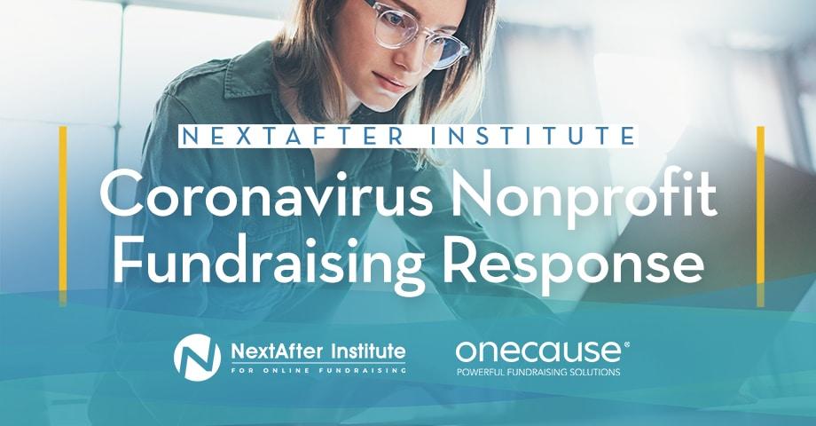 Corona Virus Nonprofit Fundraising Response from NextAfter