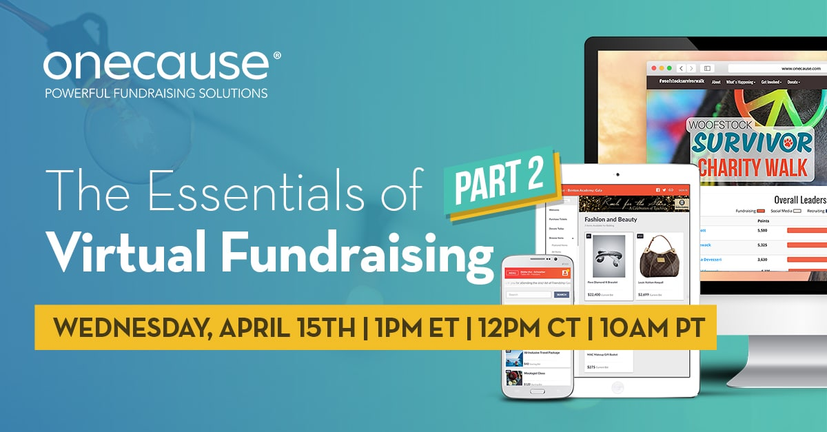 The Essentials to Virtual Fundraising, Part 2