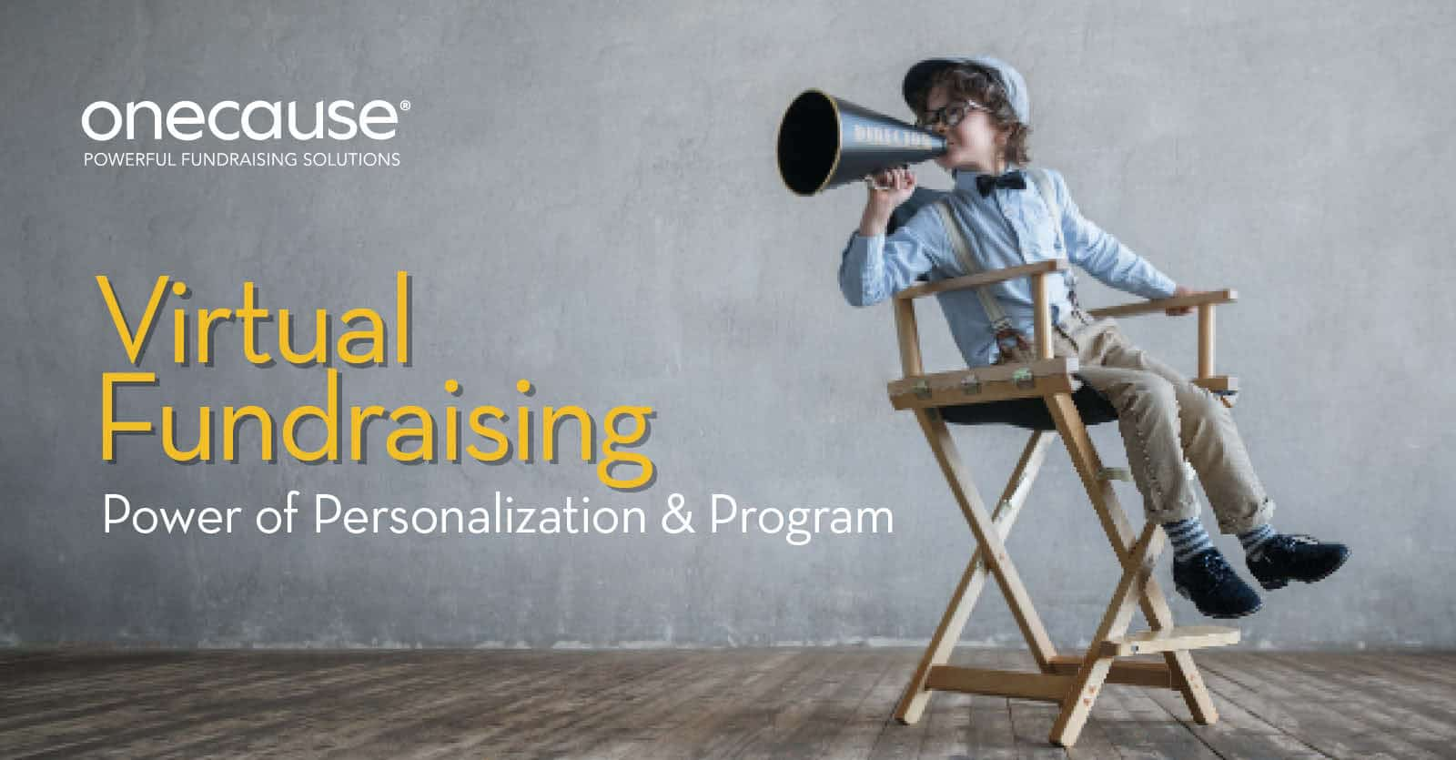Virtual Fundraising: Power of Personalization and Program
