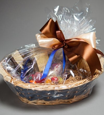 A sampler of local good makes a great auction basket idea.