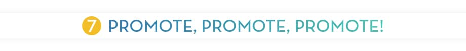 PROMOTE, PROMOTE, PROMOTE YOUR PEER-TO-PEER VIRTUAL CAMPAIGN