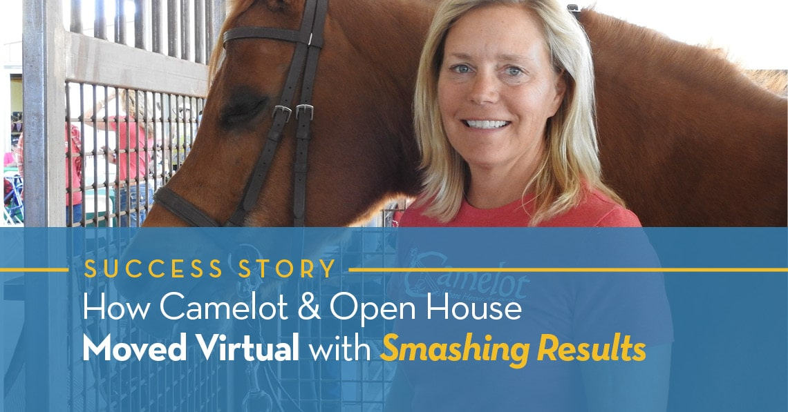 How Camelot Open House Moved Virtual
