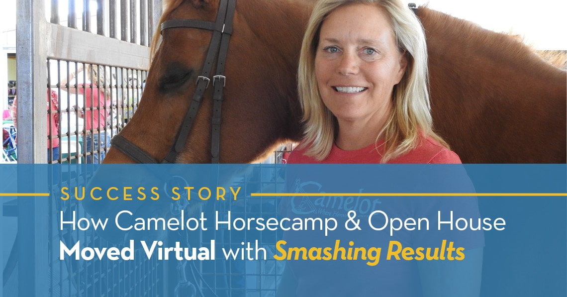How Camelot Horse camp & Open House Moved Virtual with Smashing Results