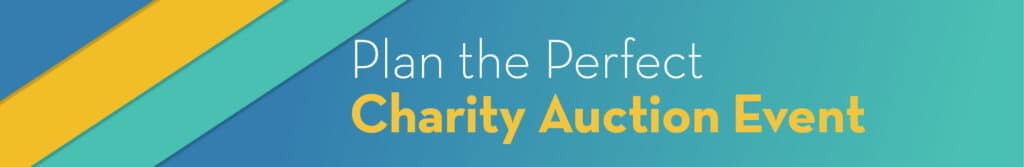 Plan the perfect charity auction event