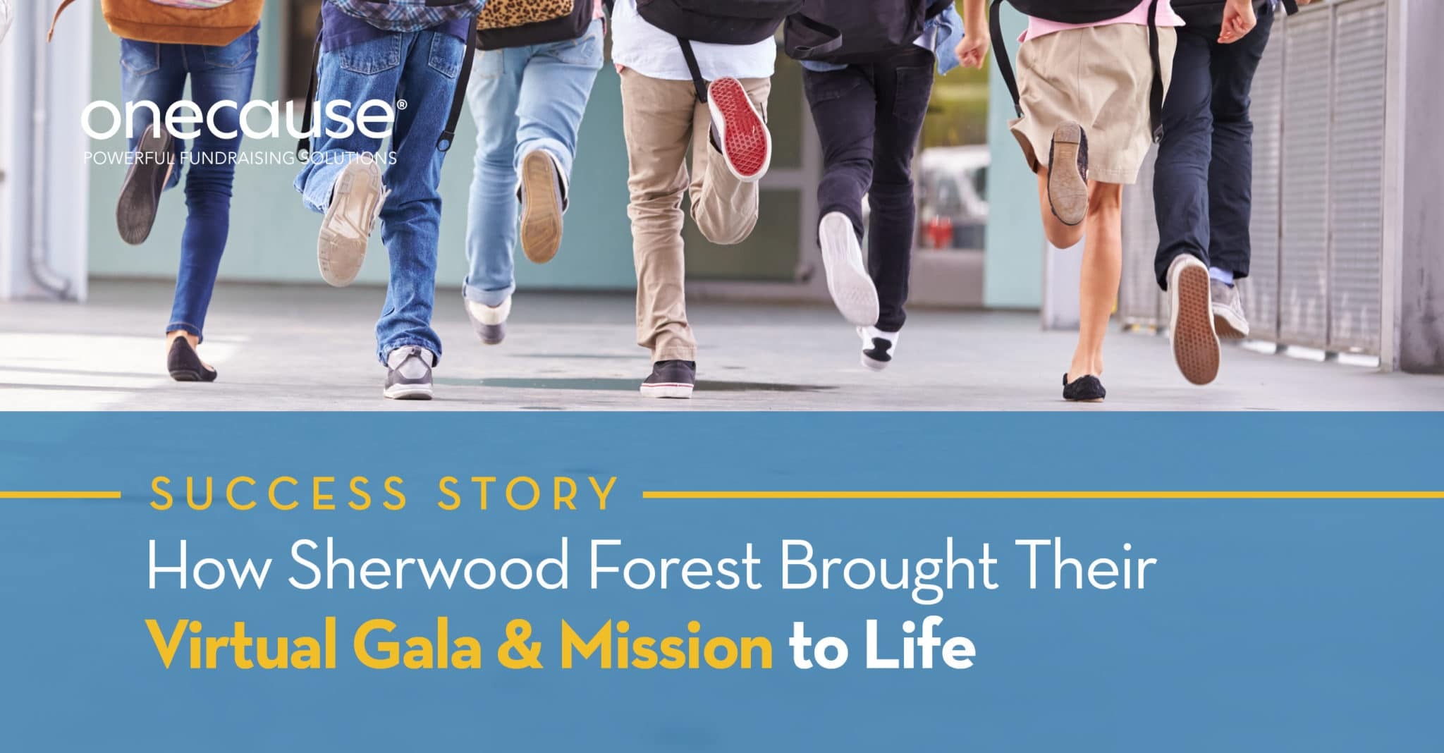 How Sherwood Forest brought Their Virtual Gala & Mission to Life