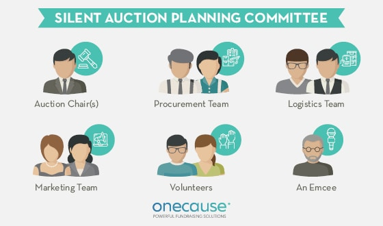 Recruit these members for your silent auction planning committee.
